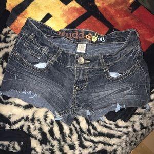Mudd size 3 cut off jean👖 shorts 💕